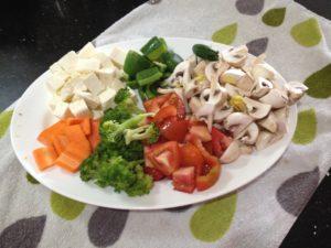 Healthy vegetable delightIMG_3136
