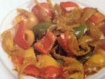 colors on your plate capsicum-sabji