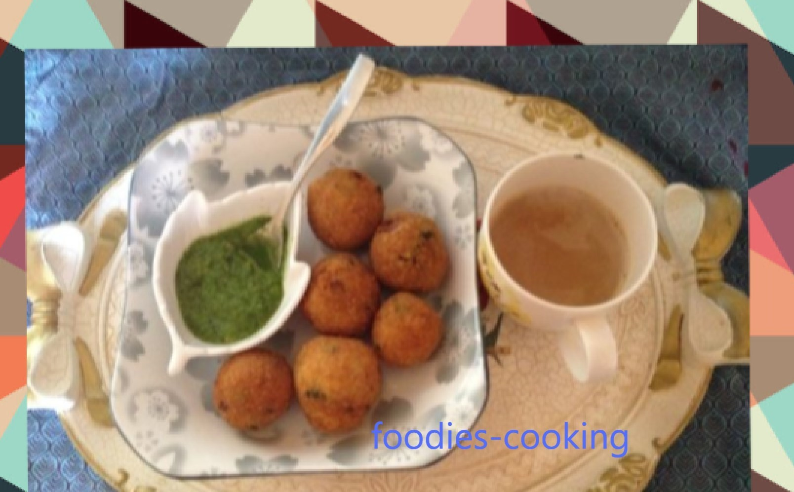 potato croquettes Tea time snack